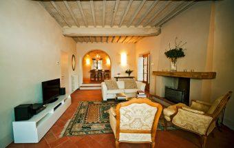 restauro villa arceno pancole